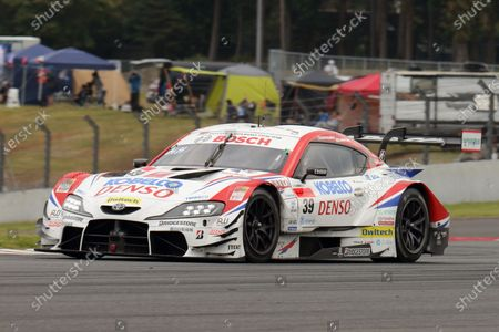Stock Photo of GT500 Winner Heikki Kovalainen & Yuichi Nakayama ( #39 DENSO KOBELCO SARD GR Toyota Supra )