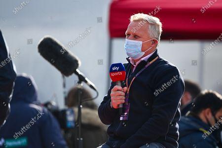 Stock Picture of Johnny Herbert, Sky TV