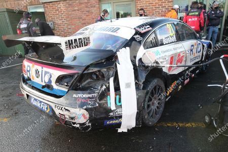 Stock Image of Mike Bushell (GBR) - Team HARD Volkswagen CC