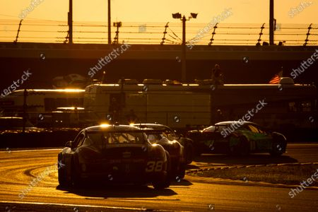 Editorial picture of Grand-Am, Daytona 24, Daytona International Speedway, United States of America - 26 Jan 2013