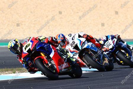 Alvaro Bautista, Team HRC, Tom Sykes, BMW Motorrad WorldSBK Team.