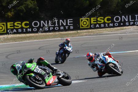 Xavi Fores, Kawasaki Piccetti Racing, Tom Sykes, BMW Motorrad WorldSBK Team.