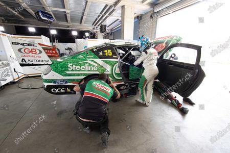 Stock Photo of Rick Kelly, Kelly Racing Ford
