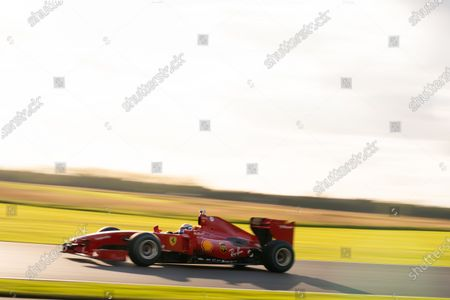 Marc Gene, Ferrari F60. Photo: Nick Dungan/Goodwood