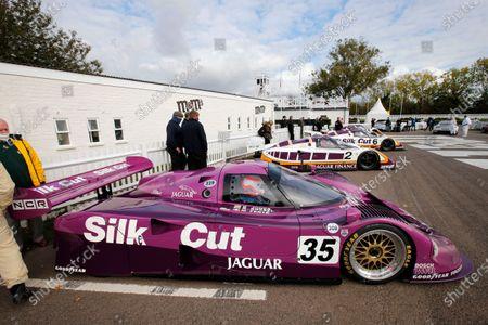 A Jaguar XJ-9 demonstration led by Martin Brundle.
