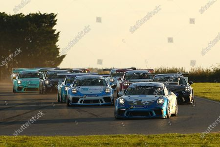 Editorial photo of Porsche Carrera Cup (GB), Snetterton, Snetterton, United Kingdom - 25 Oct 2020