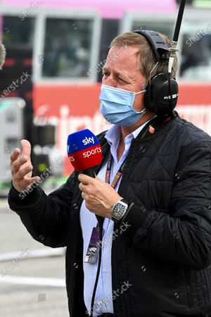 Martin Brundle, Sky TV, on the grid