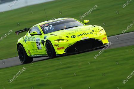 #97 Jamie Caroline / Daniel Vaughan - TF Sport Aston Martin Vantage AMR GT4