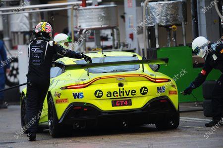 Stock Picture of #97 Jamie Caroline / Daniel Vaughan - TF Sport Aston Martin Vantage AMR GT4