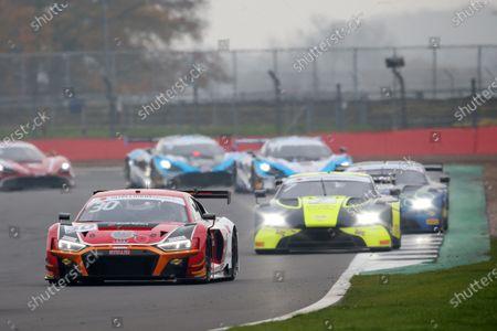 Stock Photo of #30 Richard Williams / Sennan Fielding - Steller Motorsport Audi R8 LMS GT3