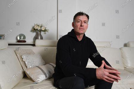 Editorial photo of Chris Sutton photo shoot, London, UK - 29 Dec 2020