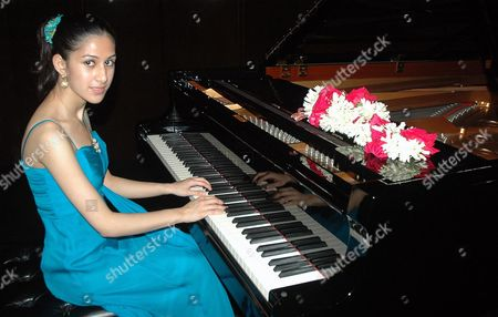 Editorial picture of Mishka Rushdie Momen piano recital at the National and Centre for Performing Arts, Mumbai, India - 26 Mar 2010