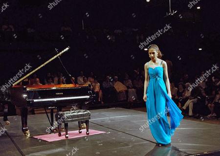 Editorial image of Mishka Rushdie Momen piano recital at the National and Centre for Performing Arts, Mumbai, India - 26 Mar 2010