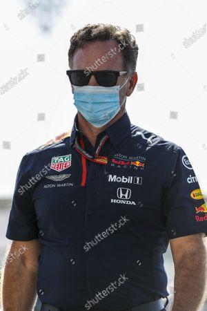 Stock Photo of Christian Horner, Team Principal, Red Bull Racing