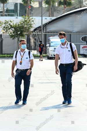 Stock Picture of Dr Ian Roberts and Alan van der Merwe, Medical Car Driver, FIA