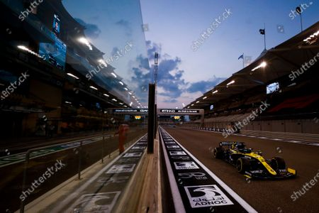 Editorial photo of Formula 1, Abu Dhabi GP, Yas Marina Circuit, United Arab Emirates - 12 Dec 2020