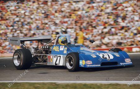 Bertil Roos, Fred Opert Racing, Chevron B27 Ford.
