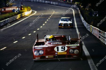 Rolf Stommelen / Giovanni Galli, Autodelta SpA, Alfa Romeo Tipo 33TT3.