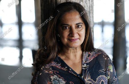 Editorial image of Mallika Chopra Portrait Session, Santa Monica, United States - 21 Dec 2020