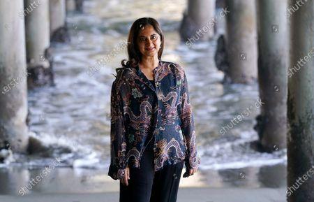 Editorial photo of Mallika Chopra Portrait Session, Santa Monica, United States - 21 Dec 2020