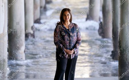 Editorial picture of Mallika Chopra Portrait Session, Santa Monica, United States - 21 Dec 2020