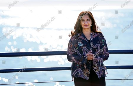 Stock Picture of Author Mallika Chopra poses for a portrait, in Santa Monica, Calif