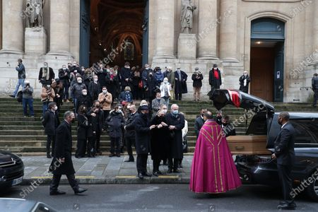 Editorial image of Claude Brasseur funeral, Paris, France - 29 Dec 2020