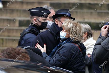 Editorial image of Claude Brasseur funeral, Paris, France - 29 Dec 2020