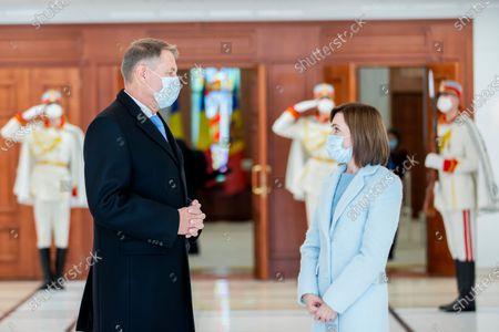 Editorial picture of President of Romania Klaus Iohannis visits Moldova, Chisinau, Moldova Republic Of - 29 Dec 2020