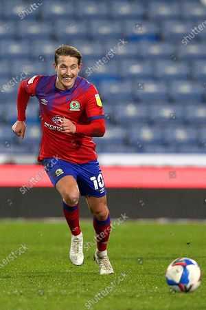 Blackburn Rovers midfielder Lewis Holtby (10) during the EFL Sky Bet Championship match between Huddersfield Town and Blackburn Rovers at the John Smiths Stadium, Huddersfield