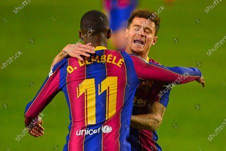 Editorial image of FC Barcelona vs SD Eibar, LaLiga Santander, date 16. Football, Camp Nou Stadium, Barcelona, Spain - 29 DIC 2020