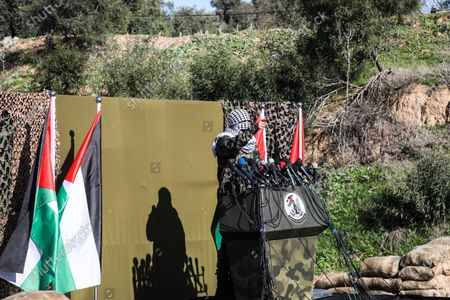 Editorial picture of Palestinian factions hold military drill in Gaza, Palestine - 29 Dec 2020