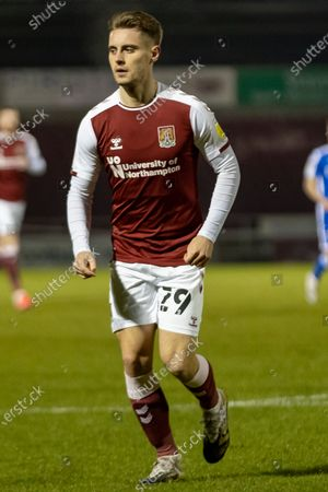 Northampton Town Forward Danny Rose (29) during the EFL Sky Bet League 1 match between Northampton Town and Gillingham at the PTS Academy Stadium, Northampton