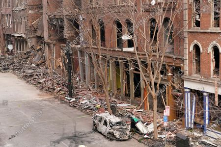 Editorial picture of Explosion , Nashville, United States - 29 Dec 2020