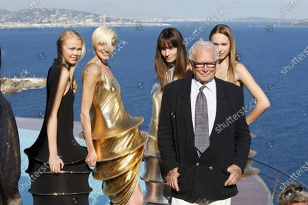 Pierre Cardin,RTW,S/S,2009,in Cardin's house at Theoule sur Mer,October 6,2008