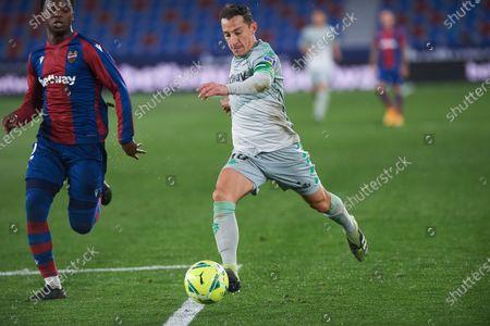 Editorial picture of Soccer: La Liga - Levante v Real Betis, Valencia, Spain - 29 Dec 2020