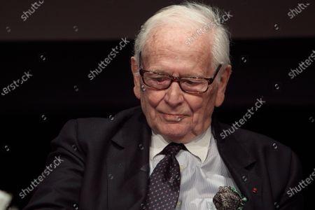 Editorial image of Pierre Cardin dies aged 98, Paris, France - 29 Dec 2020