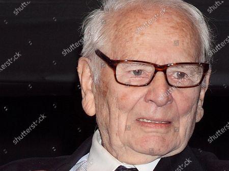 Editorial photo of Pierre Cardin dies aged 98, Paris, France - 29 Dec 2020