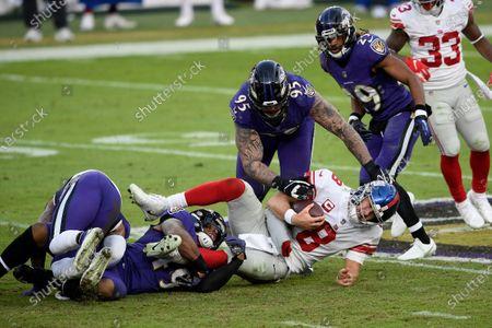 Editorial photo of Giants Ravens Football, Baltimore, United States - 27 Dec 2020