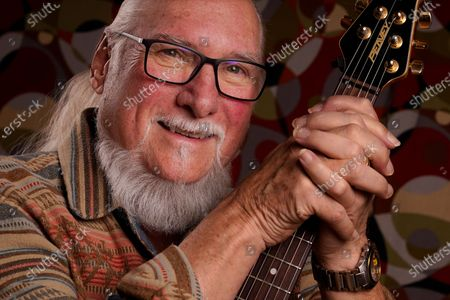 Guitarist, songwriter and record producer Steve Cropper poses, in Nashville, Tenn. Cropper has been in the music business for more than six decades. At a time when it was common for white musicians to co-opt the work of Black artists, Cropper was that rare white artist willing to keep a lower profile and collaborate. More than half a century later, he is still making music at 79 years old. His latest album is scheduled for release in April