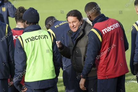 Editorial picture of First training session for the new head coach of Nantes football team, France - 30 Dec 2020