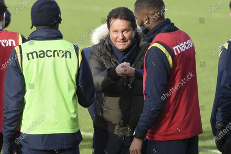 Editorial photo of First training session for the new head coach of Nantes football team, France - 30 Dec 2020