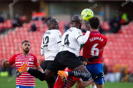 Editorial photo of Soccer: LaLiga - Granada v Valencia, Spain - 30 Dec 2020