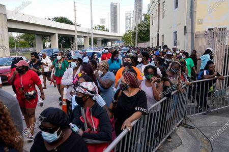 Editorial image of Virus Outbreak Florida, Miami, United States - 29 Dec 2020