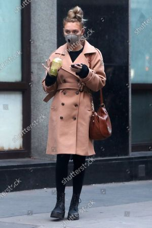 Editorial photo of Roxy Horner out and about, London, UK - 30 Dec 2020