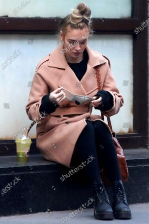 Editorial picture of Roxy Horner out and about, London, UK - 30 Dec 2020