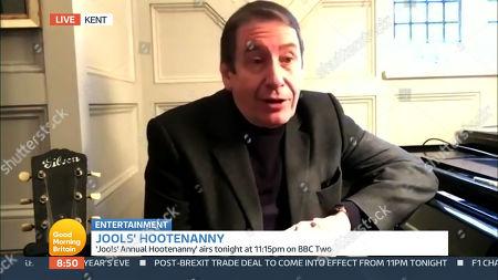 Editorial photo of 'Good Morning Britain' TV Show, London, UK - 31 Dec 2020