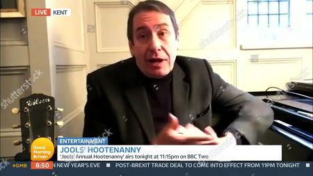 Editorial image of 'Good Morning Britain' TV Show, London, UK - 31 Dec 2020