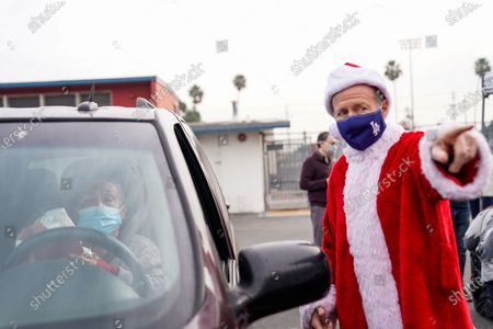 Editorial picture of Los Angeles Unified School District Superintendent Austin Beutner, Washington Prep High School, Los Angeles, California, United States - 23 Dec 2020