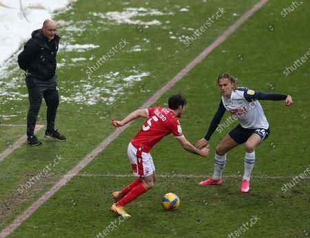 Preston North End manager Alex Neill urges Brad Potts